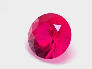 宝石(ルビー)の写真素材 [FYI00421288]