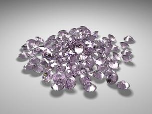 宝石(パープルダイヤモンド)の写真素材 [FYI00421292]