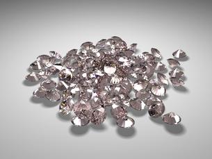宝石(ピンクダイヤモンド)の写真素材 [FYI00421294]