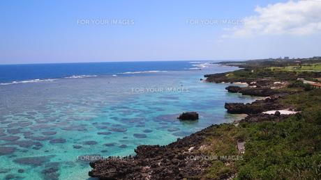 サンゴ礁の海岸の素材 [FYI00421539]