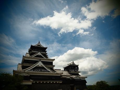 熊本城 天守閣の素材 [FYI00421542]