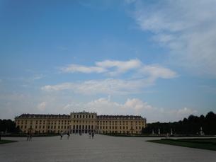 青空と宮殿の写真素材 [FYI00421569]