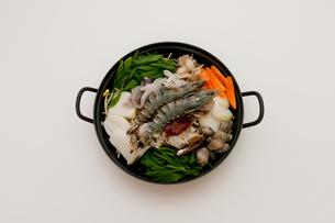 ヘムルタン・海鮮鍋の写真素材 [FYI00421648]