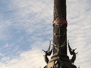 コロンブスの塔の写真素材 [FYI00421655]