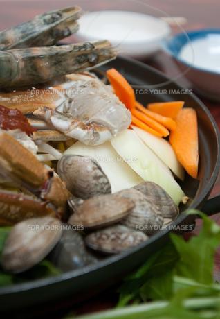 ヘムルタン・海鮮鍋.の写真素材 [FYI00421660]