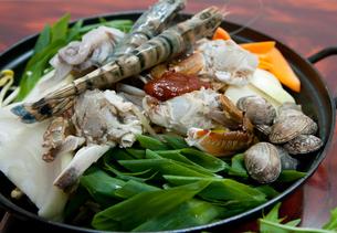 ヘムルタン・海鮮鍋の写真素材 [FYI00421665]