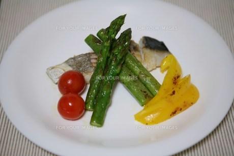 イタリアンプレート料理の写真素材 [FYI00421743]