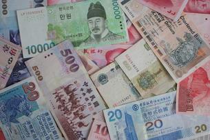 アジアの紙幣の写真素材 [FYI00421840]