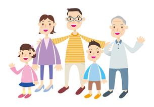 3世代家族の素材 [FYI00422326]