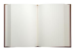 白ページの本の素材 [FYI00422358]