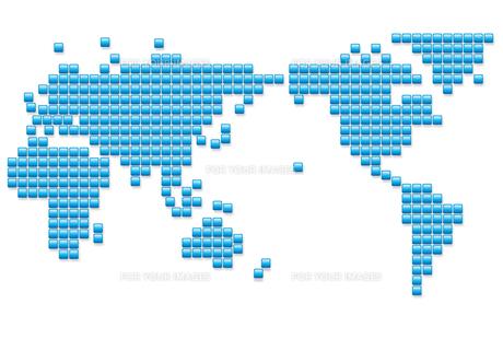 世界地図イメージの写真素材 [FYI00422372]