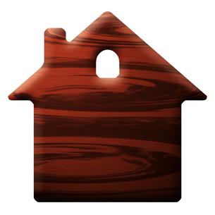 家型の板の写真素材 [FYI00422439]