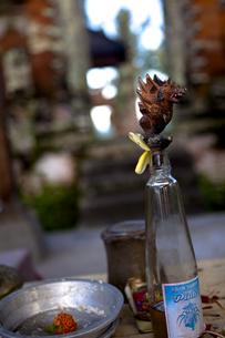 バリ島、寺院にての素材 [FYI00422447]