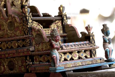 バリ島、寺院にての素材 [FYI00422453]