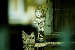 バリ島、寺院にての素材 [FYI00422457]