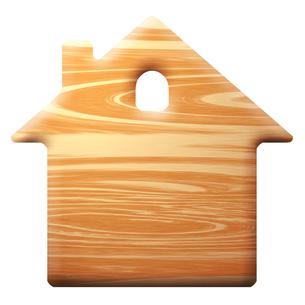 家型の板の写真素材 [FYI00422466]