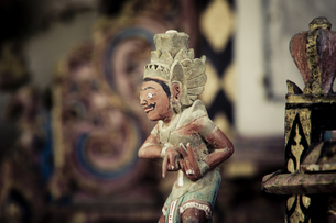 バリ島、寺院にての素材 [FYI00422467]