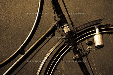 アンティークの自転車の素材 [FYI00422475]