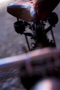 アンティークの自転車の素材 [FYI00422486]