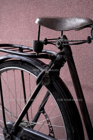 アンティークの自転車の素材 [FYI00422497]