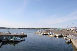 サロマ湖漁港 現風景の写真素材 [FYI00422560]