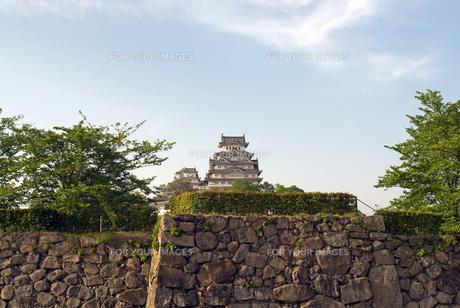 姫路城の写真素材 [FYI00422708]