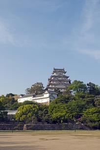 姫路城の写真素材 [FYI00422723]