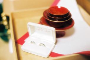 結婚指輪の写真素材 [FYI00422742]