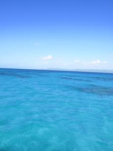 青い海と青い空の写真素材 [FYI00423452]