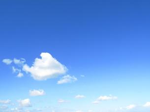 青い空と雲の写真素材 [FYI00423477]