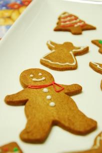 クリスマスクッキーの写真素材 [FYI00423834]