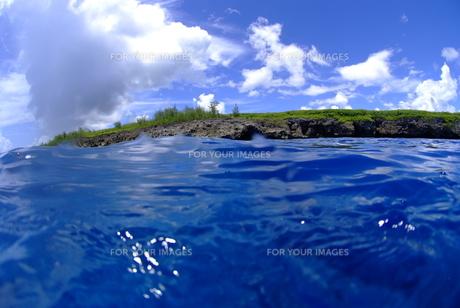 海と陸と空の素材 [FYI00424001]
