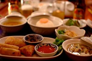 カンボジア料理の写真素材 [FYI00424176]