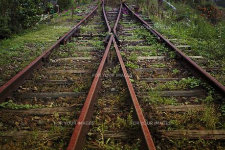 線路の写真素材 [FYI00424459]