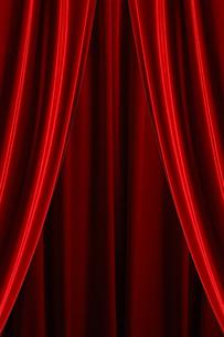 舞台の幕の写真素材 [FYI00424554]