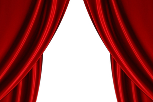 舞台の幕の写真素材 [FYI00424558]