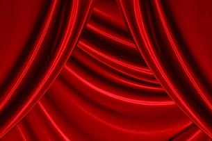 赤い布の写真素材 [FYI00424566]