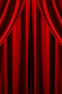 舞台の幕の写真素材 [FYI00424573]