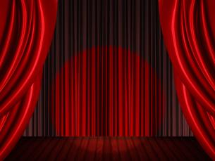 ステージとスポットライトの写真素材 [FYI00424834]