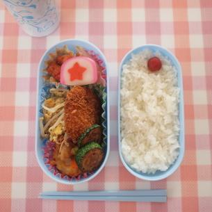 本日のお弁当の写真素材 [FYI00425085]
