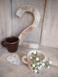 ふたつのカップの写真素材 [FYI00425094]