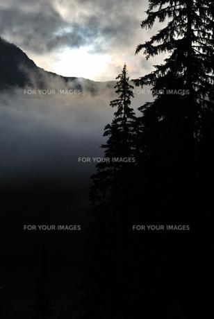 エメラルドレイクの光の写真素材 [FYI00425141]
