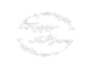 happy new yearの写真素材 [FYI00425171]
