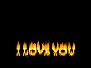 燃えるアルファベットの写真素材 [FYI00425178]