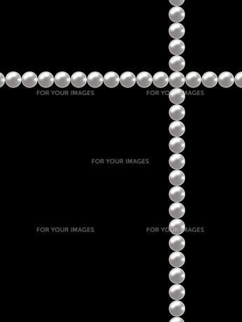 真珠のクロスの写真素材 [FYI00425193]