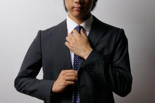 若いビジネスマンのポートレートの写真素材 [FYI00425279]