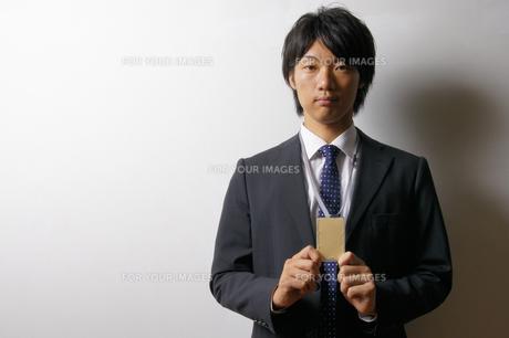 若いビジネスマンのポートレートの写真素材 [FYI00425296]