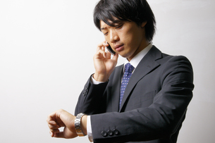 若いビジネスマンのポートレートの写真素材 [FYI00425306]