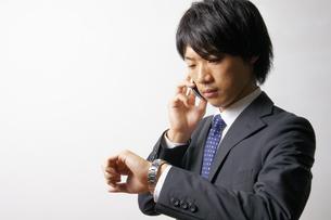 若いビジネスマンのポートレートの写真素材 [FYI00425307]