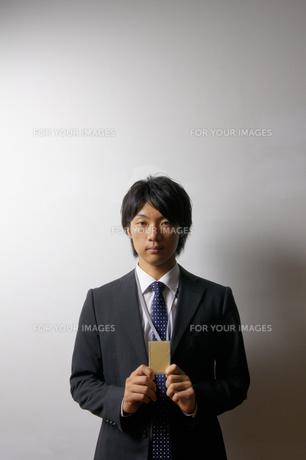 若いビジネスマンのポートレートの写真素材 [FYI00425311]